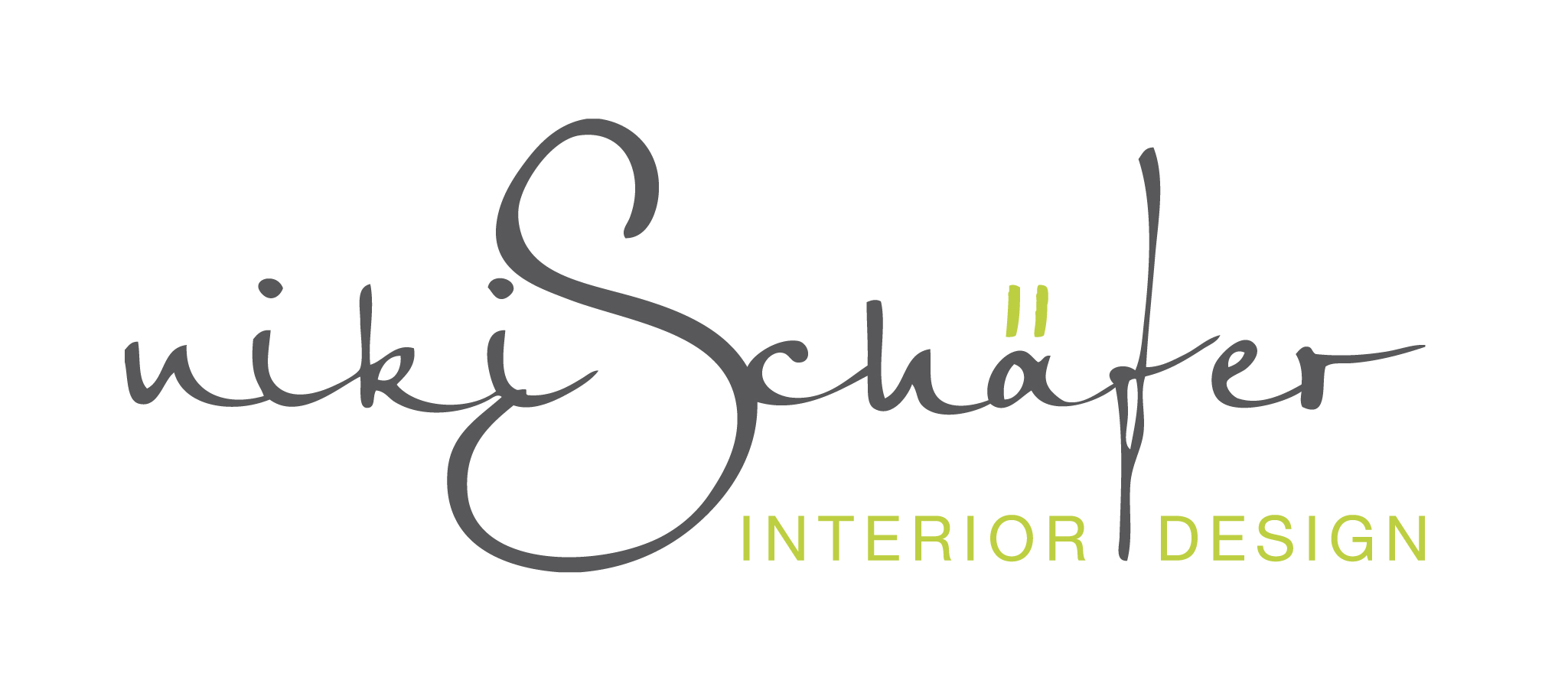 niki schafer interior design logo