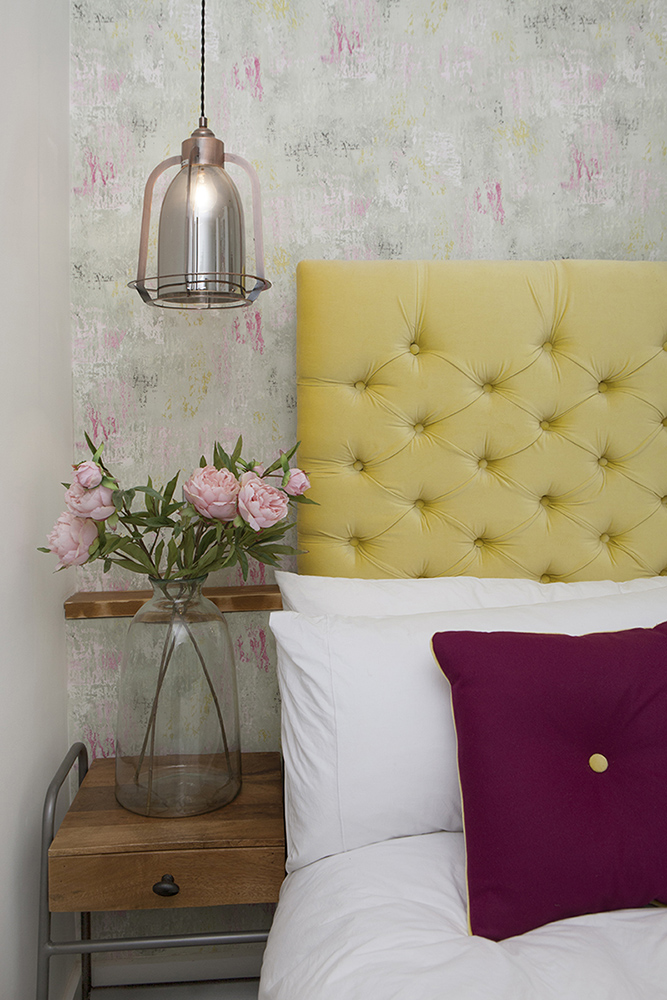 How to style the perfect bedroom - creating balance