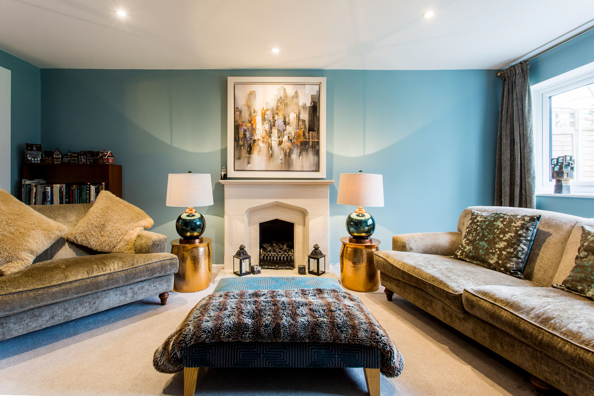 living room interior design,interior designer Oxfordshire, home decor, interior stylist,
