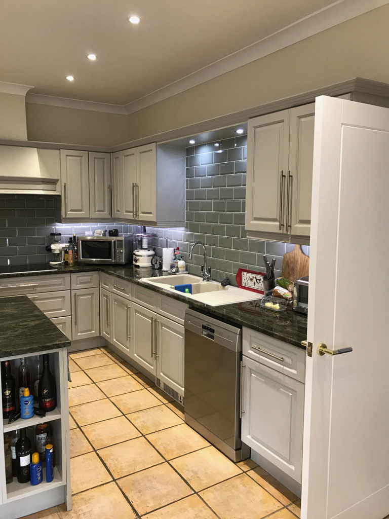 Kitchen remodelling before