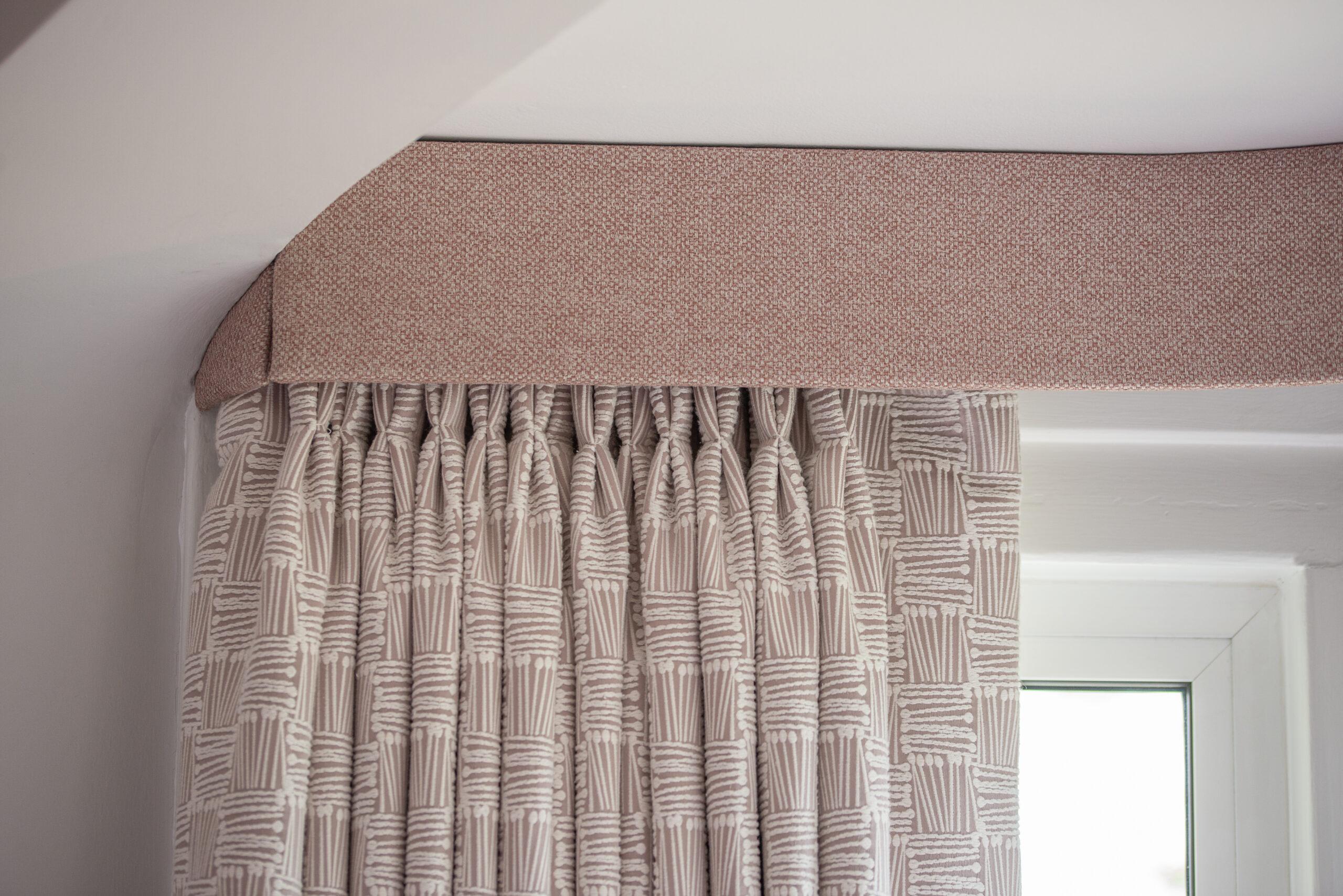 Fairways Goring bedroom curtain