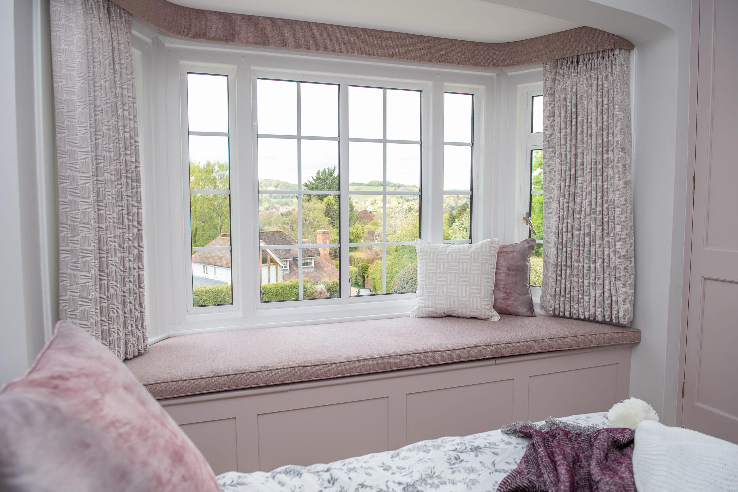 Fairways Goring Bedroom Window and Bed