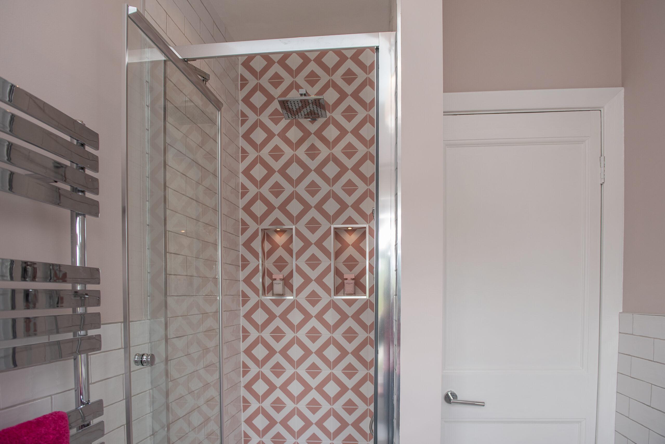 Fairways Goring Ensuite Bathroom Dual Shower Rainfall